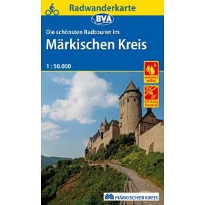 BVA Fietskaart Märkischen Kreis 1:50.000