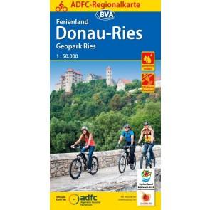 Fietskaart BVA- Ferienland Donau-Ries / Geopark Ries 1:50.000 (1.A 2018)