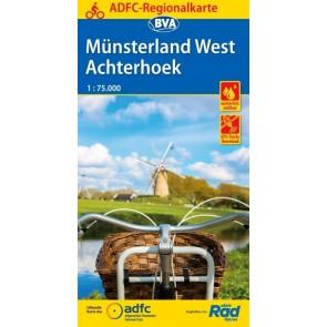 Fietskaart BVA-ADFC Regionalkarte Achterhoek / Münsterland West  1:75.000 (1.A 2018)