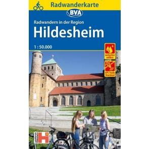 Fietskaart BVA-Radwanderkarte Hildesheim 1:50.000 (1.A 2018)