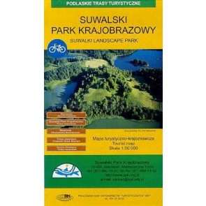 Toeristenkaart Suwalski Park 1:50.000
