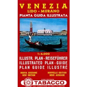 Plattegrond Venezia - Lido - Murano 1:6000