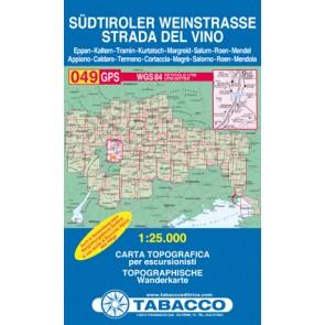 Blad 049 Südtiroler Weinstrasse 1:25000 (GPS)
