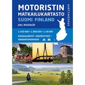 Road Atlas Finland 1:650.000 / 1:800.000 2014 (ringband)