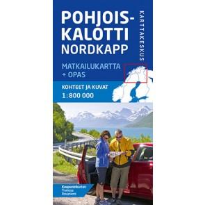 Wegenkaart Noordkaap/Nordkapp  Northern Scandinavia 1:800.000 (2016)