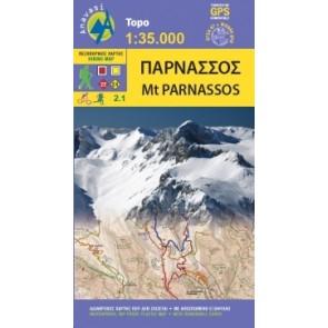 Topo 1:35.000 Mount Parnassos 2.1