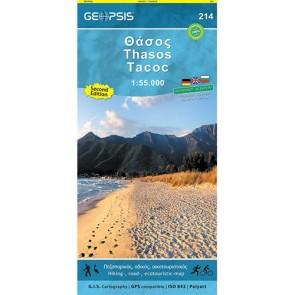Thasos Eiland 1:55.000 (214)