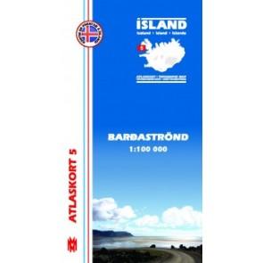 Topografische Kaart IJsland Atlaskort 22 - Kverkfjvöll 1:100.000