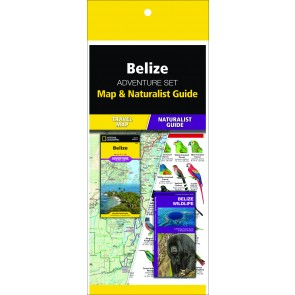 Belize Adventure Set (Map & Naturalist Guide)