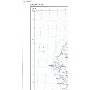 Svalbard Bjørnøya 1:50.000