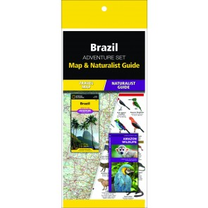 Brazil Adventure Set (Map & Naturalist Guide)