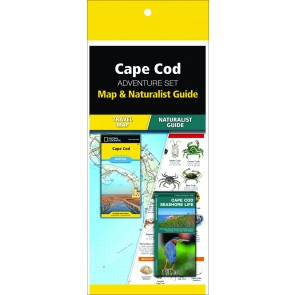 Cape Cod Adventure Set (Map & Naturalist Guide)