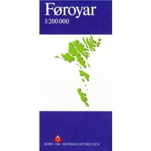 Faroer/Føroyar 1:200 000 (2012)