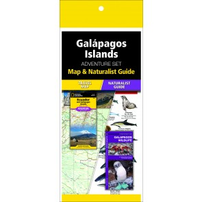 Galápagos Islands Adventure Set (Map & Naturalist Guide)