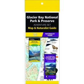Glacier Bay National Park & Preserve Adventure Set (Map & Naturalist Guide)