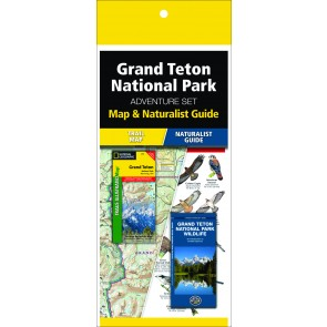 Grand Teton National Park Adventure Set (Map & Naturalist Guide)