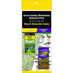 Great Smoky Mountains National Park Adventure Set (Map & Naturalist Guide)