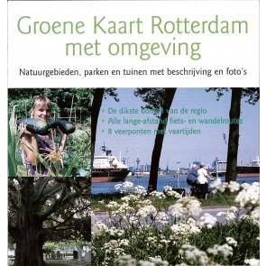Groene Kaart Rotterdam met omgeving