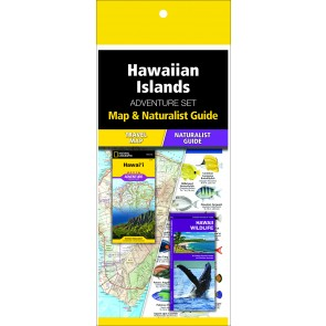 Hawaiian Islands Adventure Set (Map & Naturalist Guide)