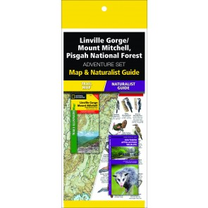 Linville Gorge/ Mount Mitchell Pisgah National Forest Adventure Set (Map & Naturalist Guide)