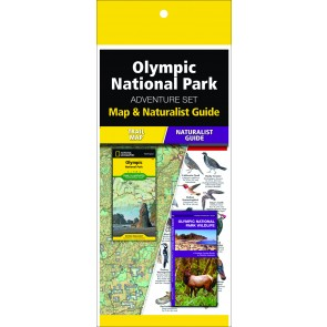 Olympic National Park Adventure Set (Map & Naturalist Guide)