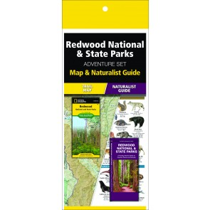 Redwood National & State Parks Adventure Set (Map & Naturalist Guide)