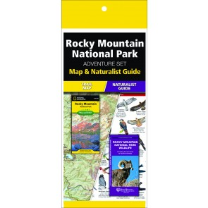 Rocky Mountain National Park Adventure Set (Map & Naturalist Guide)