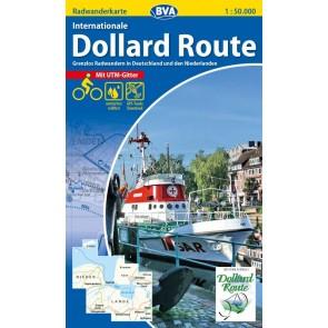 BVA-ADFC Kreis-Radwanderkarte Int. Dollard Route 1:50.000 (2015 plast)