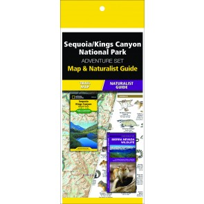 Sequoia/Kings Canyon National Park Adventure Set (Map & Naturalist Guide)