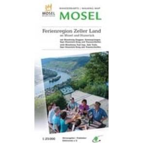Wandelkaart Ferienregion Zeller Land 1:25.000 2017 (36)