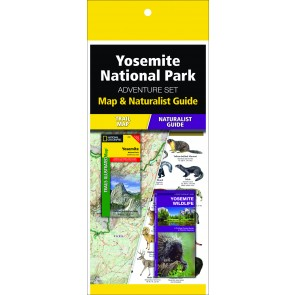 Yosemite National Park Adventure Set (Map & Naturalist Guide)