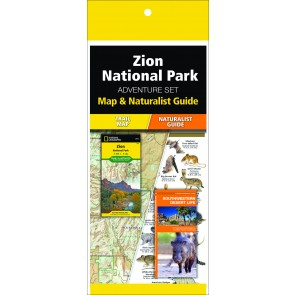 Zion National Park Adventure Set (Map & Naturalist Guide)