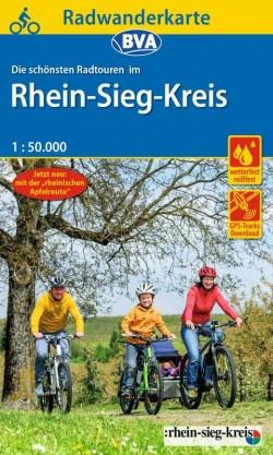 Fietskaart BVA-Radwanderkarte Rhein-Sieg-Kreis 1:50.000 (4.A 2019)