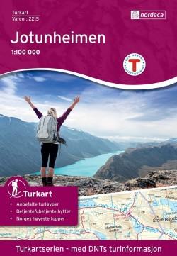 Wandelkaart Turkart Jotunheimen 1:100.000 (2016)