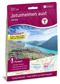 Wandelkaart Noorwegen/Turkart Jotunheimen Aust 1:50.000 (2018)