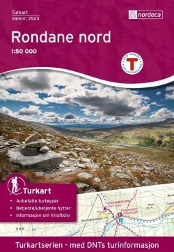 Wandelkaart/Turkart Rondane Noord 1:50.000 (2016)