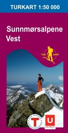 Turkart Sunnmørsalpane Vest 1:50 000 (2009)