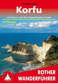 Rother Wandelgids Korfu - 34 Touren  (4.A 2019)