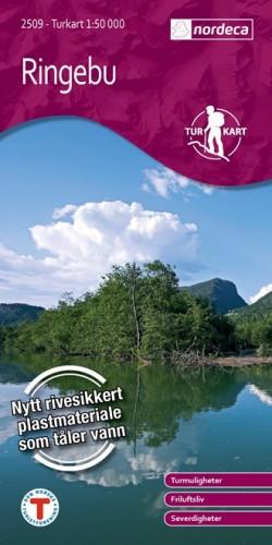 Wandelkaart / Turkart Ringebu 1:50.000 (2011)