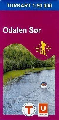 Wandelkaart Turkart Odalen Sør 1:50.000 (2007)