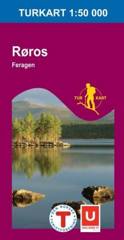 Turkart Røros-Feragen 1:50.000 (2008)
