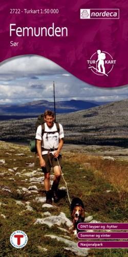 Wandelkaart-Turkart Femunden Sor 1:50.000 (2008)