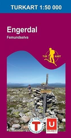 Turkart Engerdal-Femundselva 1:50.000 (2008)