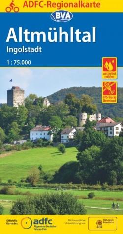 BVA Regionalkarte Altmühltal/Ingolstadt 1:75.000 (5.A 2019)