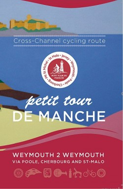 Petit Tour de Manche - cross channel cycling route Weymouth 2 Weymouth via Poole, Cherbourg and Saint Malo