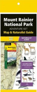 Mount Rainier Adventure Set (Map & Naturalist Guide)