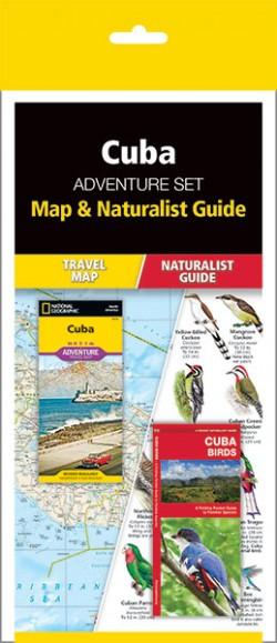 Cuba Adventure Set (Map & Naturalist Guide)