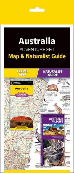 Australia Adventure Set (Map & Naturalist Guide)