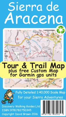 Wandelkaart Sierra de Aracena Tour & Trail Map 1:40.000 (2016)