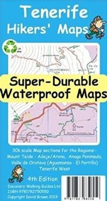 Wandelkaart Discovery Tenerife 1:30.000 Hiker's Map Super Durable (2019)